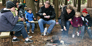 Family Camp Fires at Sloan's Village